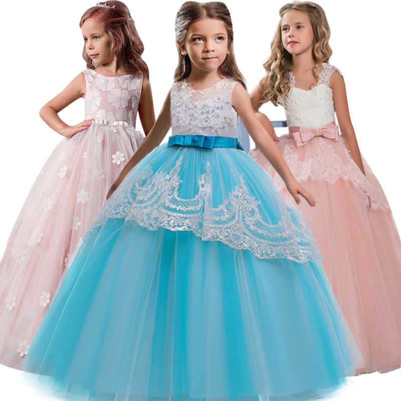 Платье подружки невесты на свадьбу с цветочным узором для девочек; бальное платье для выступлений; вечерние платья для мальчиков и девочек; белое платье с лепестками; vestidos