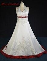 Реальное изображение 2017 Новый дизайн атласная Большие размеры Свадебное платье Лидер продаж свадебные платье сшитое фабрика поставщика