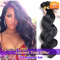6A 3pcs Set Indian Body Wave Hair 3bundles/lot Trendy Beauty Hair Products Aliexpress Indian Hair No Shedding 8-30 Inch In Stock
