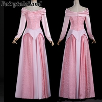 Sleeping Beauty Princess Aurora cosplay costume Aurora dress pink adult Halloween costumes for women Princess dress lovely