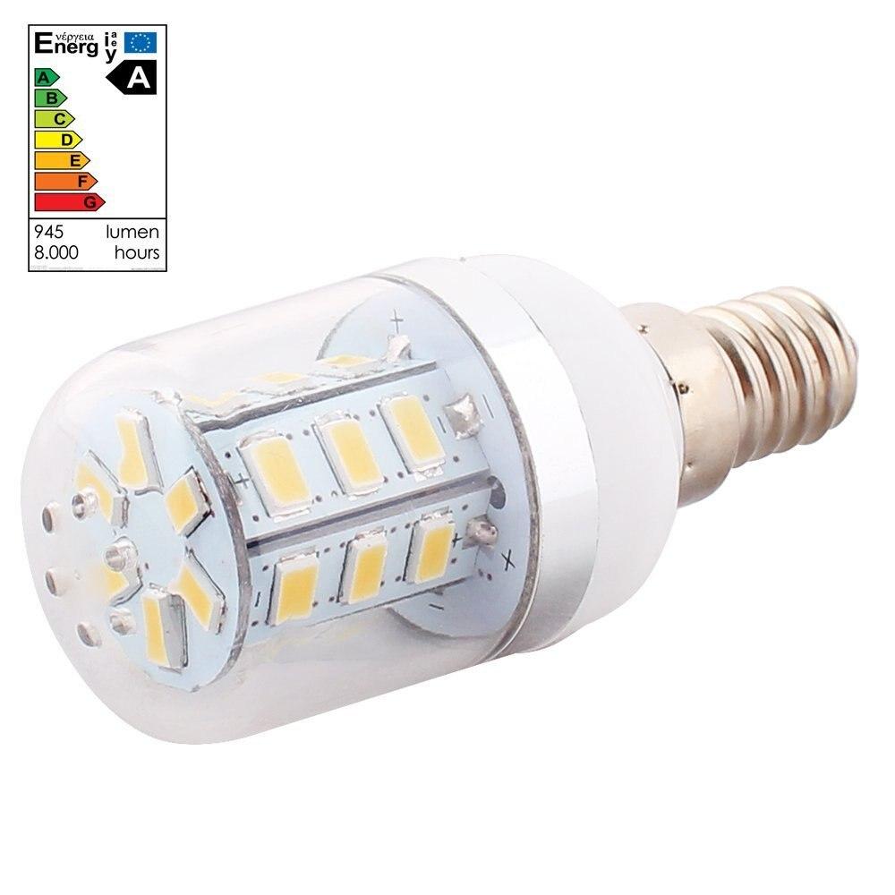 6 X E14 3W 24 LED 5630 SMD Foco Lmpara Bombilla 3600K 300LM Luz Blanco Clido