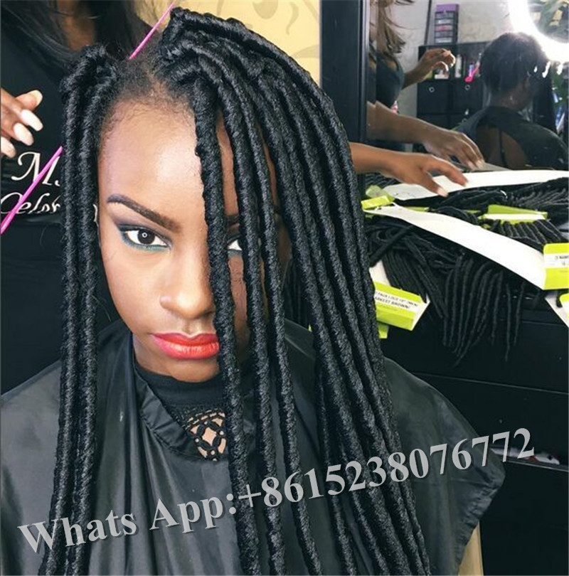 Remarkable Aliexpress Com Buy 2X Havana Mambo Faux Locs Expression Braiding Short Hairstyles For Black Women Fulllsitofus