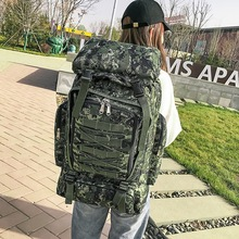 Litthing 2019 Outdoor Military Tactical Backpack Sport Travel Rucksack Camping Hiking Trekking Camouflage Bag Drop shipping