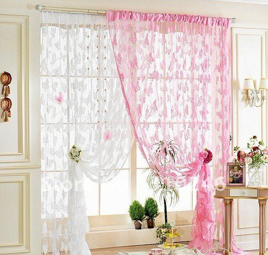 Achetez en gros large bande rideaux en ligne des for Decoration fenetre avec rideau