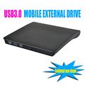 USB3.0 Portátil Externo Slim DVD-RW/Gravador de CD Drive Óptico CD-RW Burner DVD ROM Combo Escritor apoio windows10 tablet