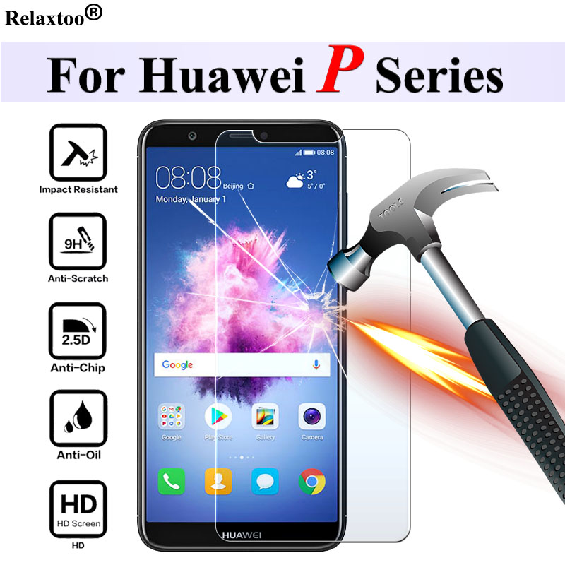 Protective Glass On For Huawei P8 P9 P10 P20 P Smart Tremp Screenprotector Huaweii Huawai 8 9 10 20 Safety Tempered Glas 9h Film