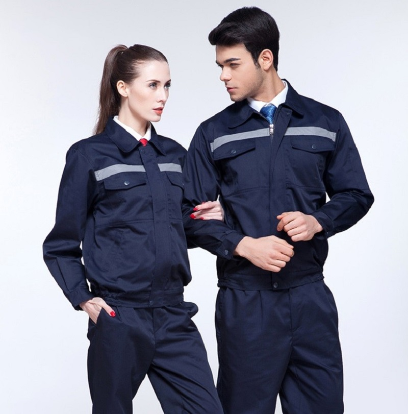 elegant shape best quality real quality Work Clothing Men Women Uniform Long Sleeve Coveralls Protective Cloth  Overalls for Worker Repairman Machine Auto Repair Welding