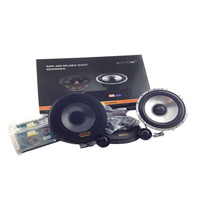 High Quality Car Audio Tweeter Loud Speaker Sets With Dome Tweeter Speakers And Crossover Divider