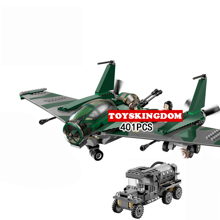 Classic movie scene Battle of the airplane wings building block figures Propeller aircraft truck bricks 7683 toys for kids gifts hot city series aviation private aircraft lepins building block crew passenger figures airplane cars bricks toys for kids gifts