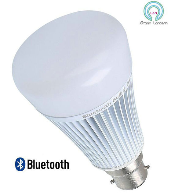 MiLight Bluetooth 4.0 Remote Control RGBW LED Light Bulb - 8W - B22 Bayonet Base