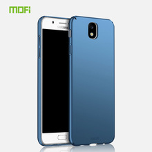 For Samsung Galaxy J7 2017 Eurasia Edition Case MOFi Back Cover PC Hard Coque For Samsung J7 2017 Cell Phone Cases(China)