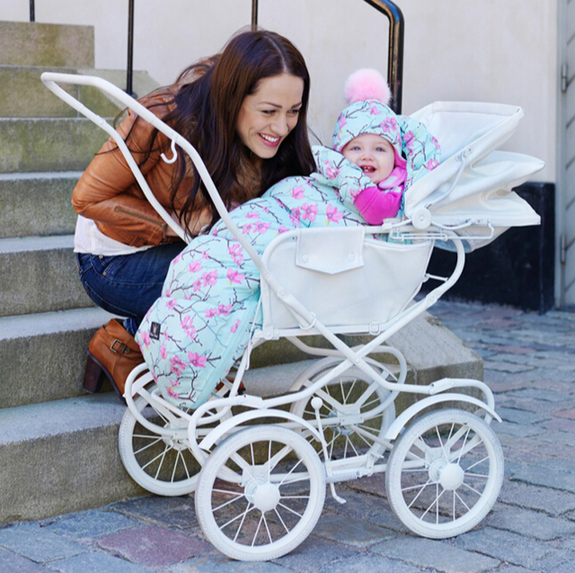 Baby sleeping Fur collar Bag winter stroller sleep thermal sack kids sleepsack in the carriage wheelchairs very cold weather