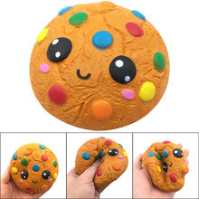 2018 Hot Sale Squash Anti-stress Toy Silly Cartoon Chocolates Biscuits Charm Slow Rising Squeeze Stress Reliever Toys oyuncak T(China)