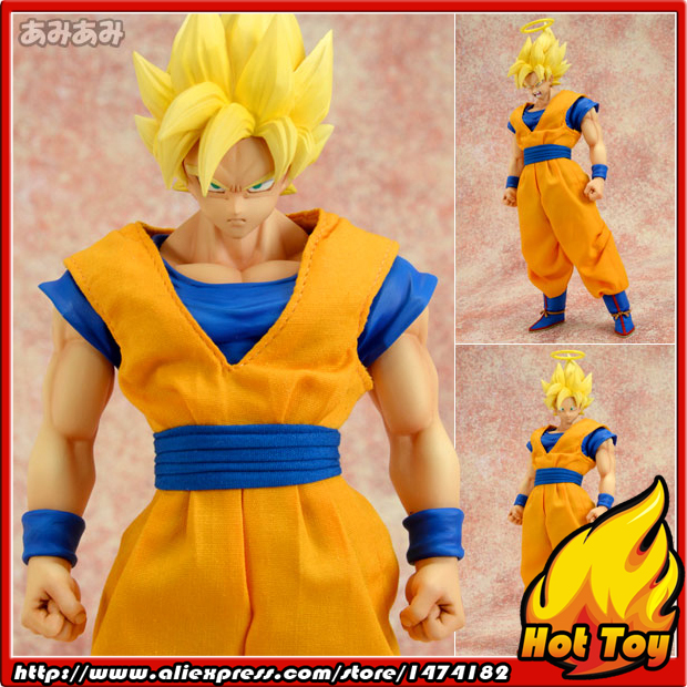 "100% Original MegaHouse Dimension of DRAGONBALL D.O.D Complete Action Figure - Super Saiyan Son Gokou from ""Dragon Ball Z"