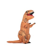 Dinosaur Trex Cosplay for Kid Unisex Jumpsuits for Halloween Carnival Party Purim Happy Birthday Animal T Rex Inflatable Costume