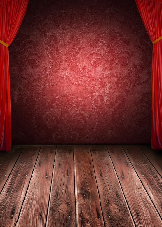 Drama Stage Photography Backdrops Opera Stage Play Fabric