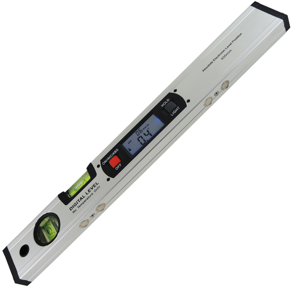 360 degree digital angle finder meter inclinometer spirit level protractor data hold bubble level gauge Digital Angle Finder Level 360 Degree Range Spirit Level Upright Inclinometer with Magnets Protractor Ruler