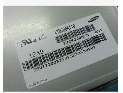 """Nova Marca Oferta LTM200KT10 20.0 """"garantia de Um ano"""