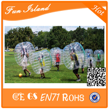 Free Shipping Cheap 1.2m Zorb Ball  ,Human Bubble Football Suit,Inflatable Bumper Ball For Kids