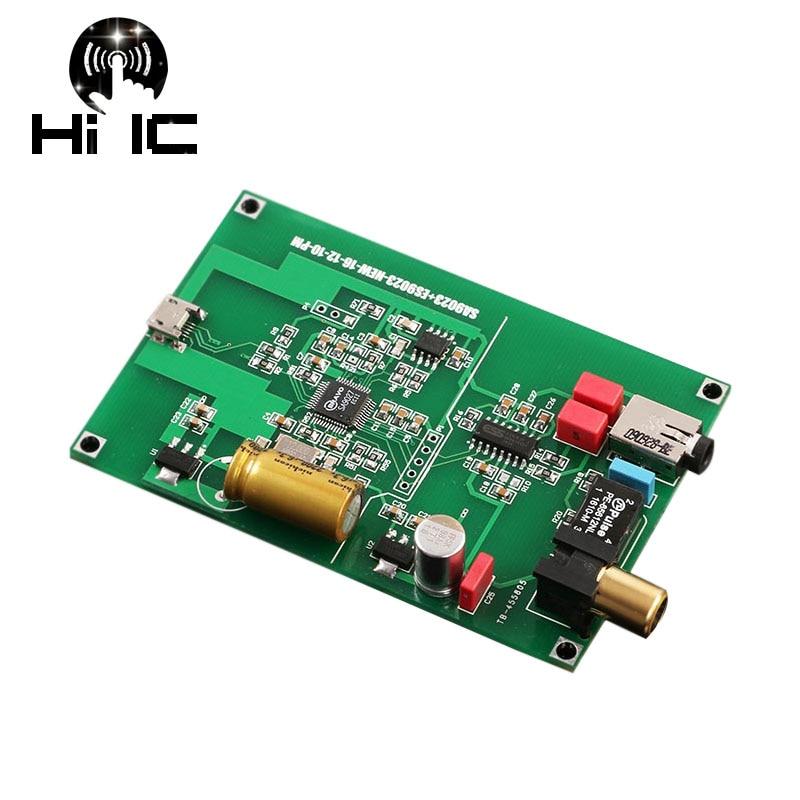 Digital-analog-wandler Es9023 Usb Dac Externe Decoder Soundkarte Verstärker Kopfhörer Verstärker Usb Zu Spdif I2s Koaxial 24bit 96 K Aromatischer Charakter Und Angenehmer Geschmack Tragbares Audio & Video Sa9023
