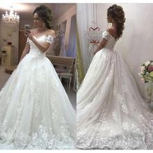 ELNORBRIDAL Wedding Dresses 2019 Bride Dress
