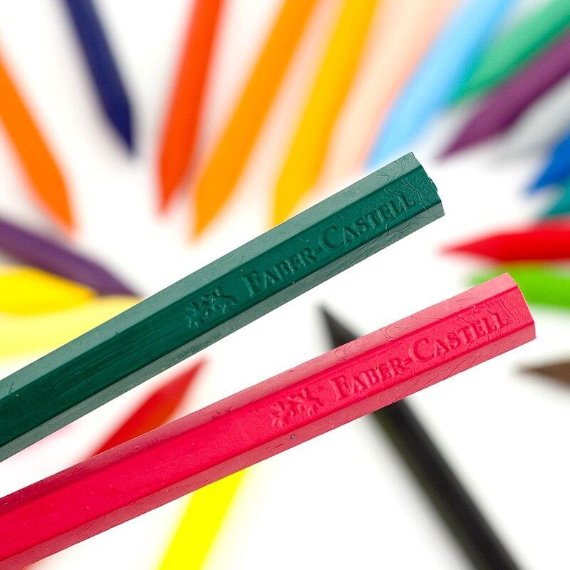 Faber Castell Crayons 24 Crayons De Couleur Art Dessin Ensemble
