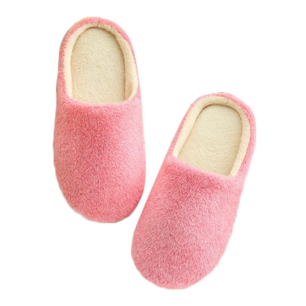 2018 Women Indoor Home Slippers Soft Plush Cotton Slipper