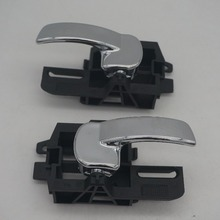 80671-JD00E 80670-JD00E для NISSAN QASHQAI J10(04-13) дверь рука внутри Левая Правая внутренняя ручка Набор Хром