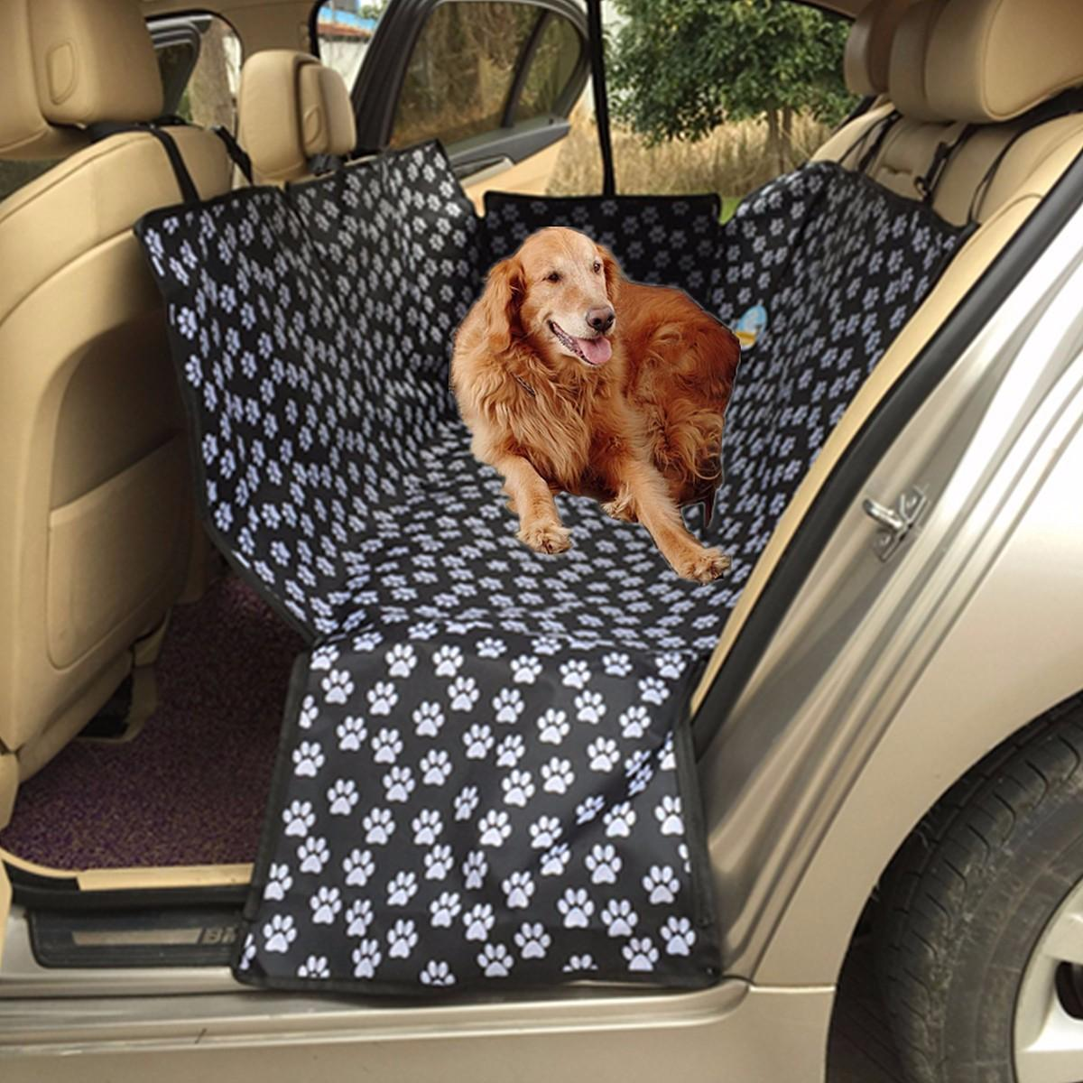 Auto Car Back Seat Cover Pet Dog Cat Mat Hammock Pet Carrier Safety