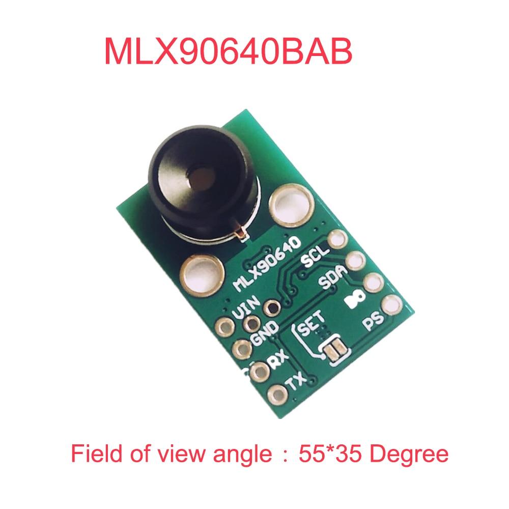 MLX90640 IR 32*24 Infrared Temperature Measuring Dot Matrix Sensor Breakout Thermal Imager Module MLX90640BAB 55*35 DegreeMLX90640 IR 32*24 Infrared Temperature Measuring Dot Matrix Sensor Breakout Thermal Imager Module MLX90640BAB 55*35 Degree
