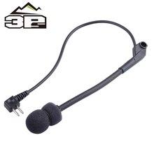 Microphone Military-Headset Talkback Comtac-Ii Z Tactical Ztac Hunting-Headphones Airsoft