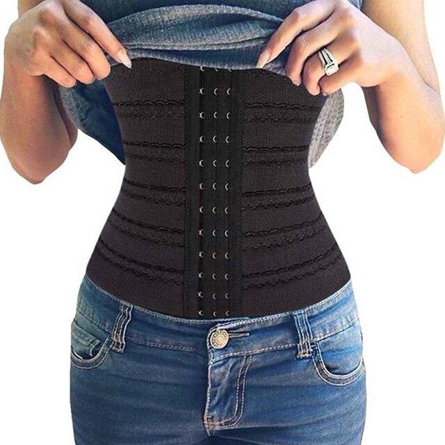 5630122f5f Women Waist Trainer Cincher Underbust Corset Belt Shapewear Slim Body  Shaper Slimming Tummy Control Corsets and Bustiers