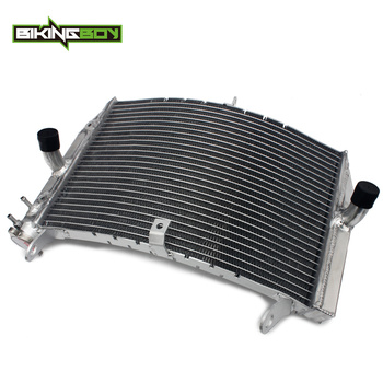 BIKINGBOY For Suzuki GSXS GSX-S 1000 2016 2017 2018 AluminumEngine Water Cooling Radiator Cooler Replace OEM 17710-04K00
