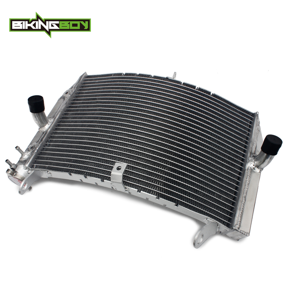 BIKINGBOY For Suzuki GSXS GSX-S 1000 2016 2017 2018 AluminumEngine Water Cooling Radiator Cooler Replace OEM 17710-04K00 image