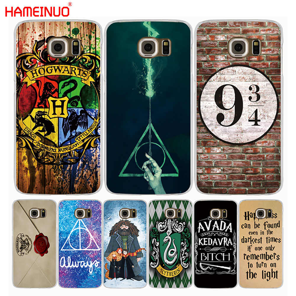 a07882a86 HAMEINUO harry potter howgwarts always slytherin cell phone case cover for Samsung  Galaxy S9 S7 edge