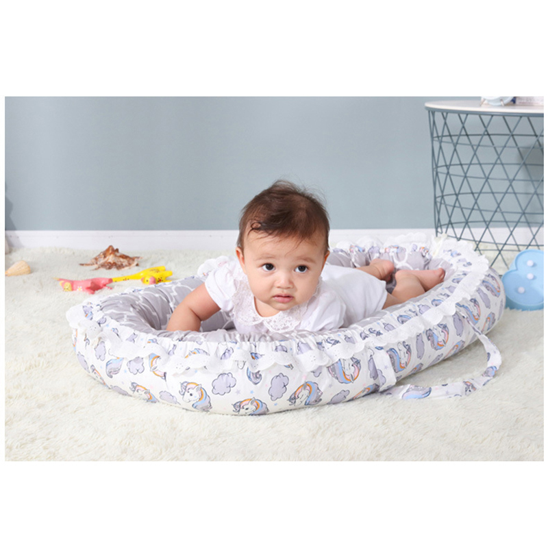New Nursery Bedding Mattresses Baby Bassinet For Bed Portable Baby Lounger For Newborn Crib Breathable And Sleep Nest