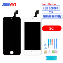 Black Assembly LCD Display Digitizer for iPhone 5C AAA Quality i Phone A1456 A1507 A1516 A1529 A1532 No Dead Pixel