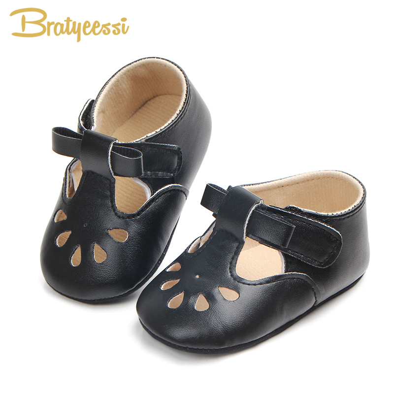 Princess Baby Girl Shoes Anti Slip Hollow Out Baby Shoes For Girls First Walkers PU Leather Baby Moccasins Soft Toddler Shoes