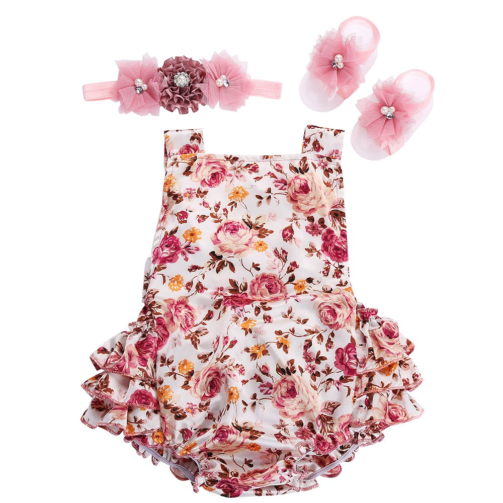 2016 bebe boutique toddler baby jumpsuit bubble lace ruffled baby girl romper summer baby onesie. Black Bedroom Furniture Sets. Home Design Ideas