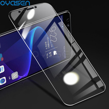 Explosion-proof Tempered Glass For Huawei Honor View 20 10 V10 9 8 Lite 7C 7A Pro 7X 9H Screen Protector For Honor View 20 10 tempered glass 9h explosion proof front screen protector for huawei honor v9 pla