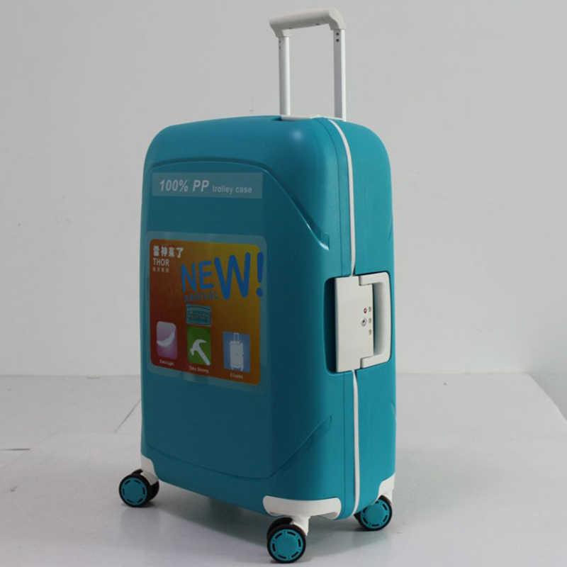 "REISE TALE 20 ""24"" 28 ""zoll PP reise koffer roll gepäck gepäck trolley auf rädern"