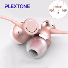 In-ear Earphones Magnetic adsorption Supper Bass auriculares Headset With Mic For Lenovo iPhone iPad Samsung phone MP3 MP4