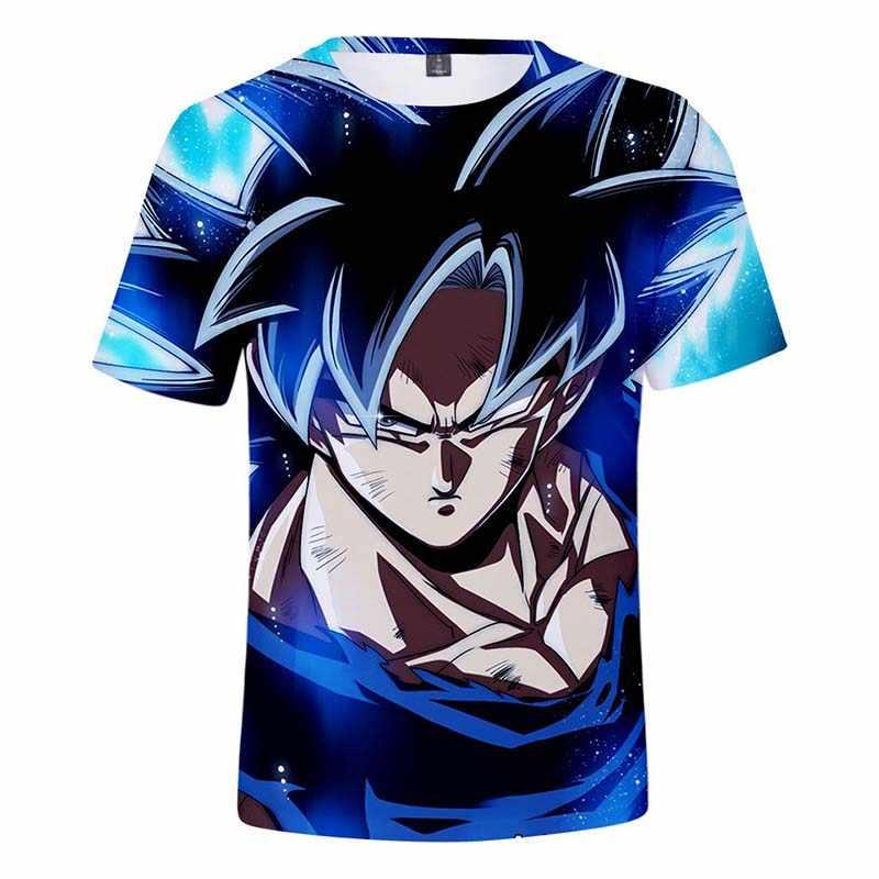 2019 г., супер Broly окружающая футболка с драконом для мужчин/женщин/детей, футболка «Goku», топы, мужская одежда летние футболки для мальчиков и девочек