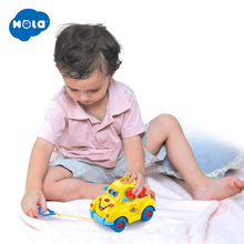Baby Car Toy with Flashing Front and Back Lights Music,Bump Go Learn Fruit Shape Sorter, Electric Cars For Children