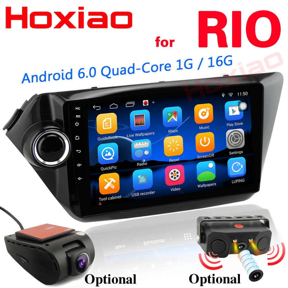 אנדרואיד 6.0 רכב GPS ניווט לקאיה ריו K2 2010 2011 2012 2013 2014 2015 תמיכת WIFI DVR מצלמה 2 דין מולטימדיה לרכב נגן
