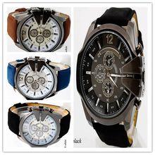 Mens Montres NORD Marque De Luxe Casual Militaire Quartz Sport Montre-Bracelet Bracelet En Cuir Mâle Horloge montre