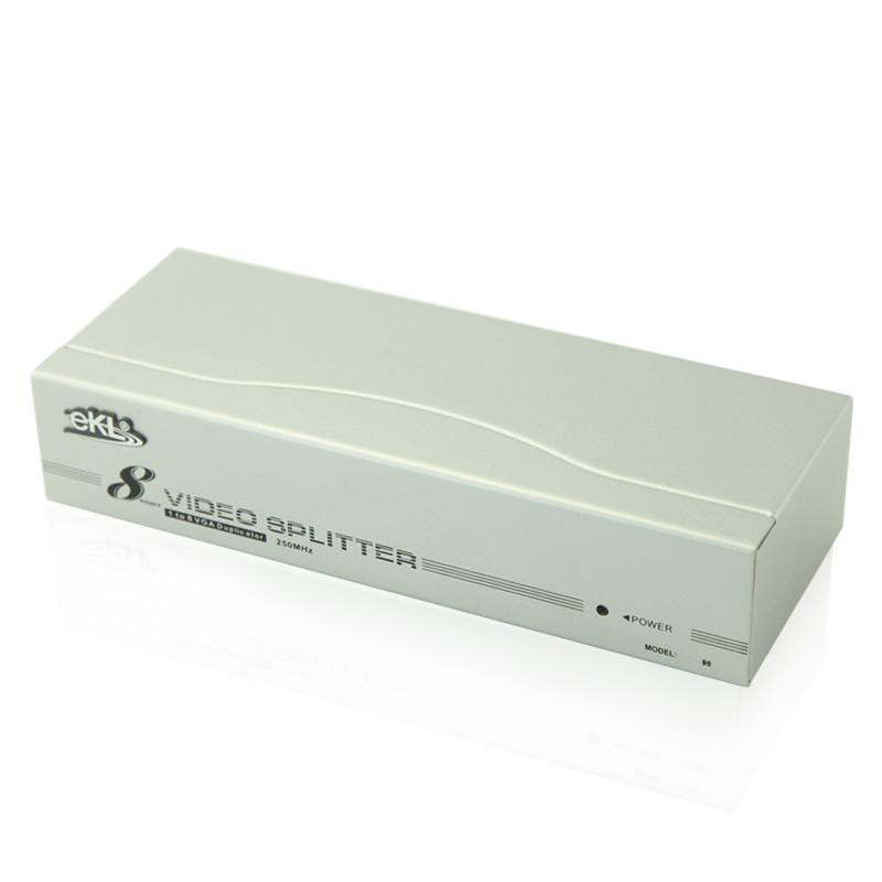 все цены на EKL 1 in 8 out HD video monitor  VGA distributor 8 Port VGA Splitter 1X8 for media ekl-98 онлайн