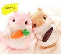 Siêu dễ thương plush toy 35 cm Làm Cho Vui mềm chất béo hamster nhồi búp bê Guinea lợn món quà sinh nhật brown/gray 1 cái Plush2-068