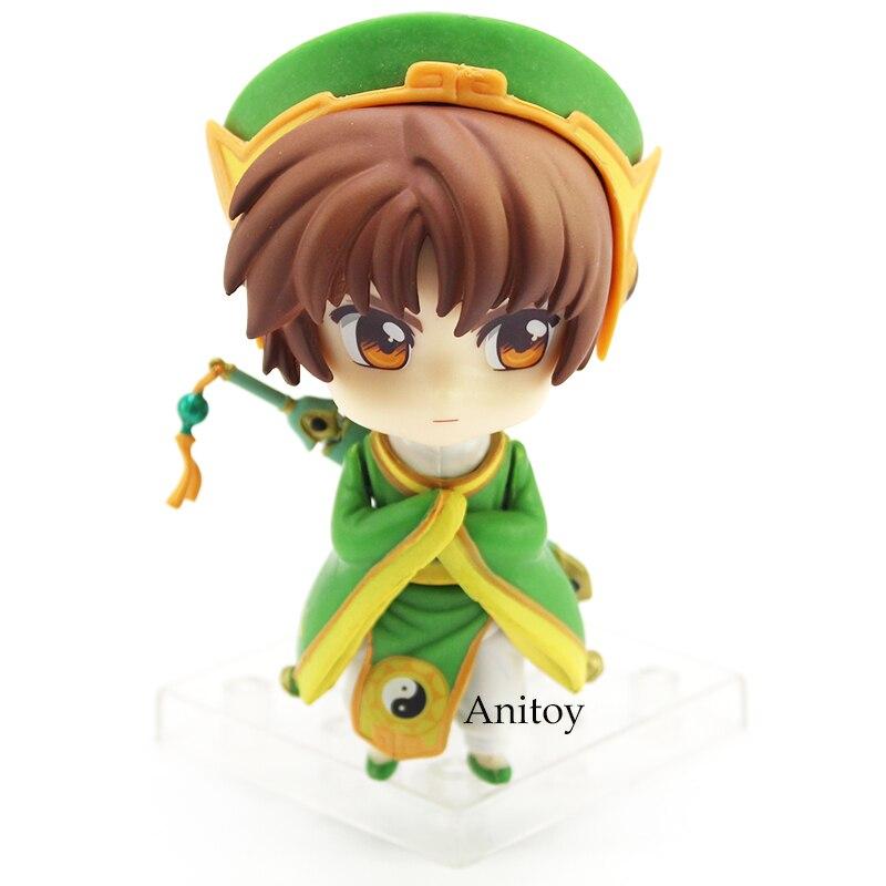 Anime Cartoon Card Captor Sakura Li Syaoran Nendoroids Doll 763 PVC Figure Collectible Model Toy 10cm 12