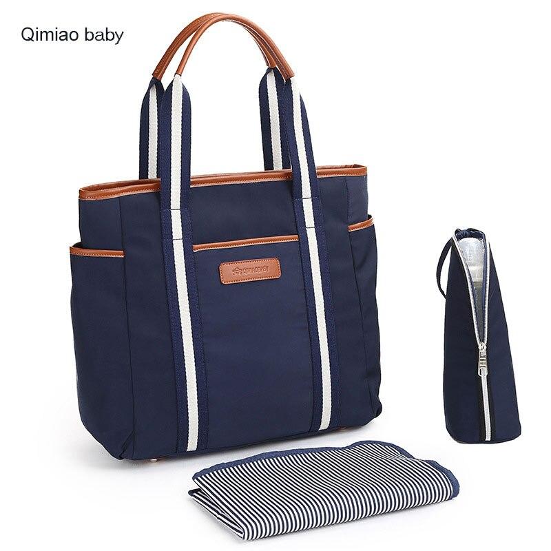 Fashion Wome Daily Bag Portable māmiņa soma Baby Nappy somas - Autiņbiksītes un tualetes apmācība